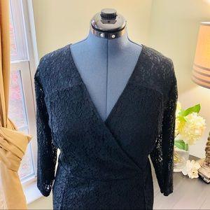 Lane Bryant Dresses - Lane Bryant Lace Midi Dress NWT Size 24